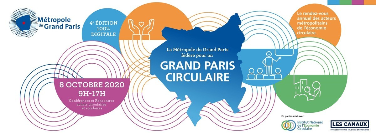 Inscription | Participez à la 4ème édition du Grand Paris Circulaire en 100% digital