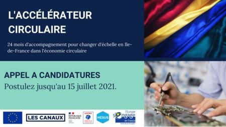 L'Accélérateur Circulaire accompagne les entreprises franciliennes de l'économie circulaire dans leur changement d'échelle !
