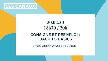 Consigne et réemploi: back to basics