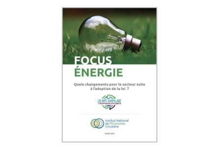 Publications INEC - Loi économie circulaire