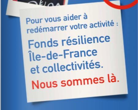 Fonds Résilience d'Île-de-France : 100 millions d'euros pour aider les entreprises