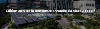 Edition 2019 de la Rencontre annuelle du réseau Teddif