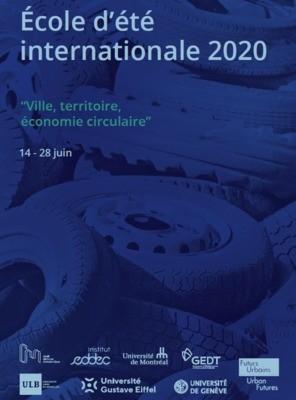 Ecole d'été internationale Ville, territoire et économie circulaire