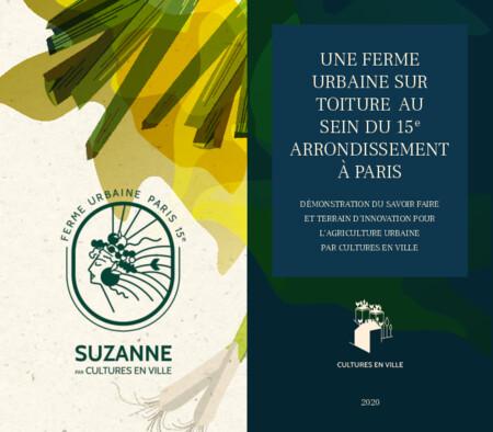 Cultures en Ville - Ferme urbaine Suzanne (Paris XVème)