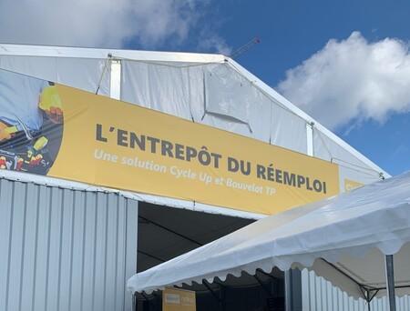 Visite de l'entrepôt du réemploi - Cycle'up x Bouvelot TP