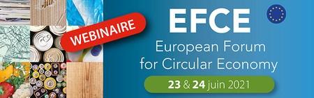 Visioconférence : EFCE - European Forum for Circular Economy