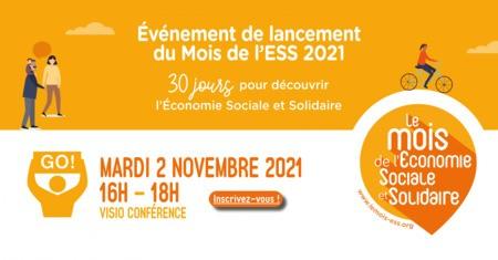Lancement du mois de l'ESS 2021